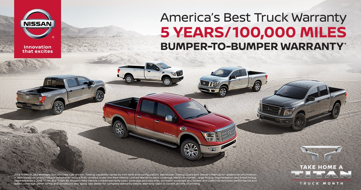 Why the Titan Beats Other New Trucks for Sale Billings