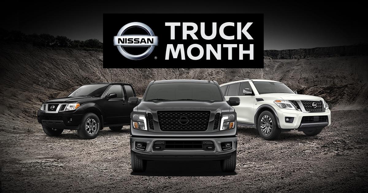 Truck Month on New Nissans in Billings