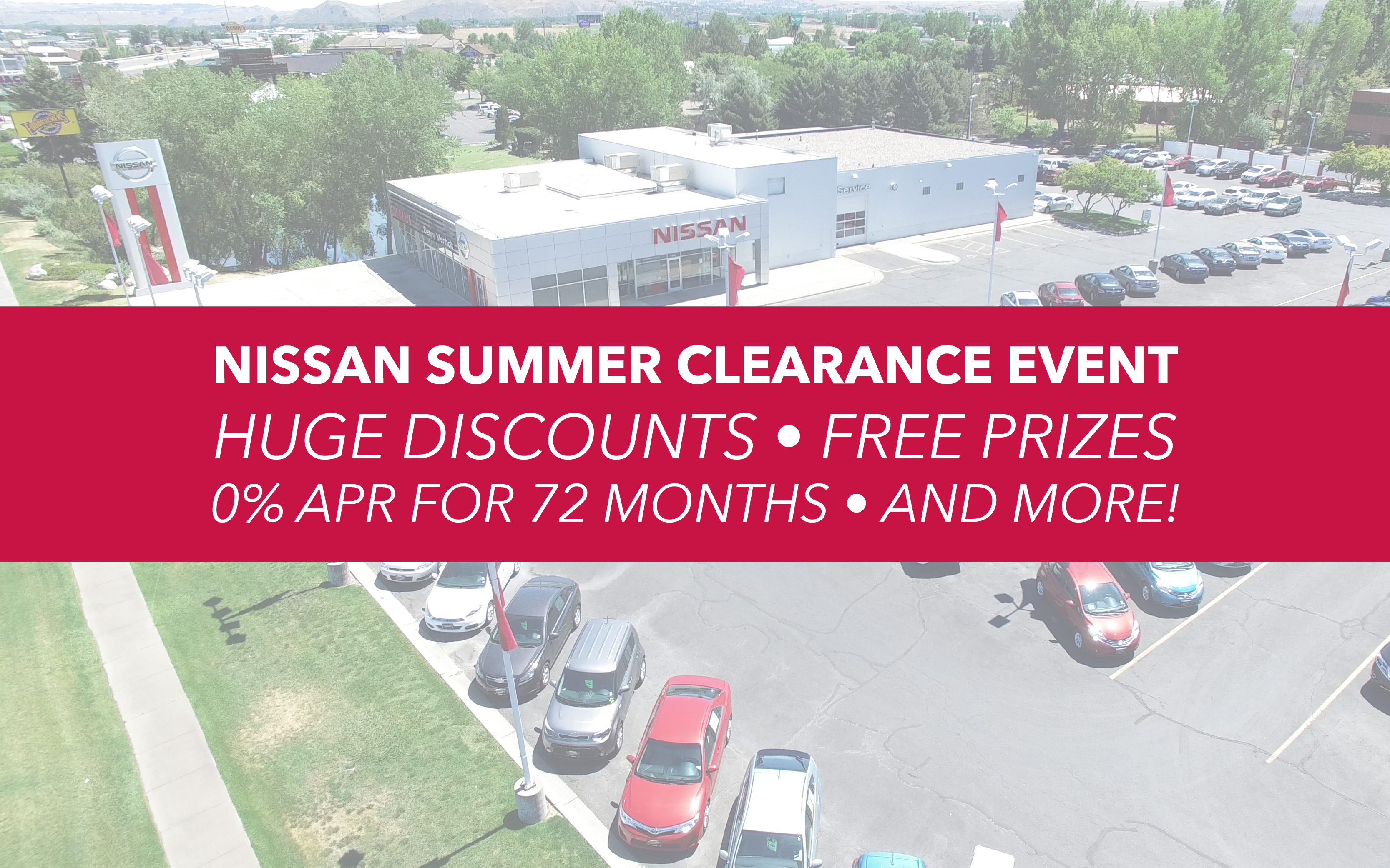 July 2017 Nissan Summer Clearance Event on Nissan for Sale Billings