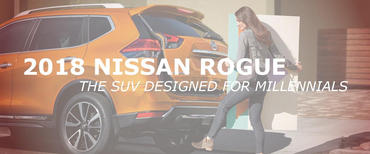 2018 Nissan Rogue in Billings for Millennials