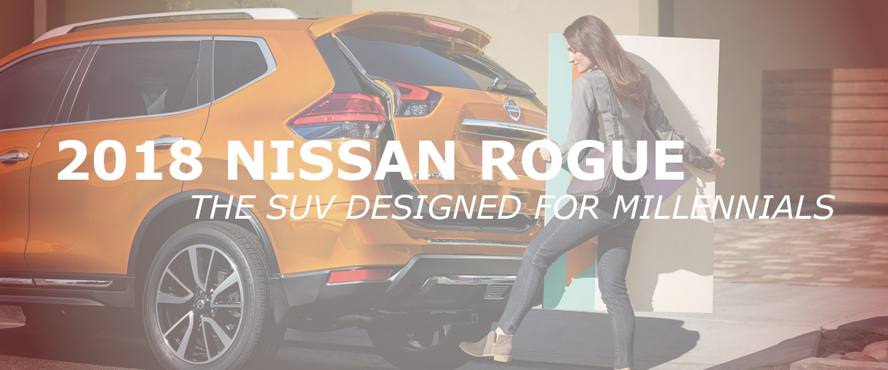 2018 Nissan Rogue in Billings for Millennials