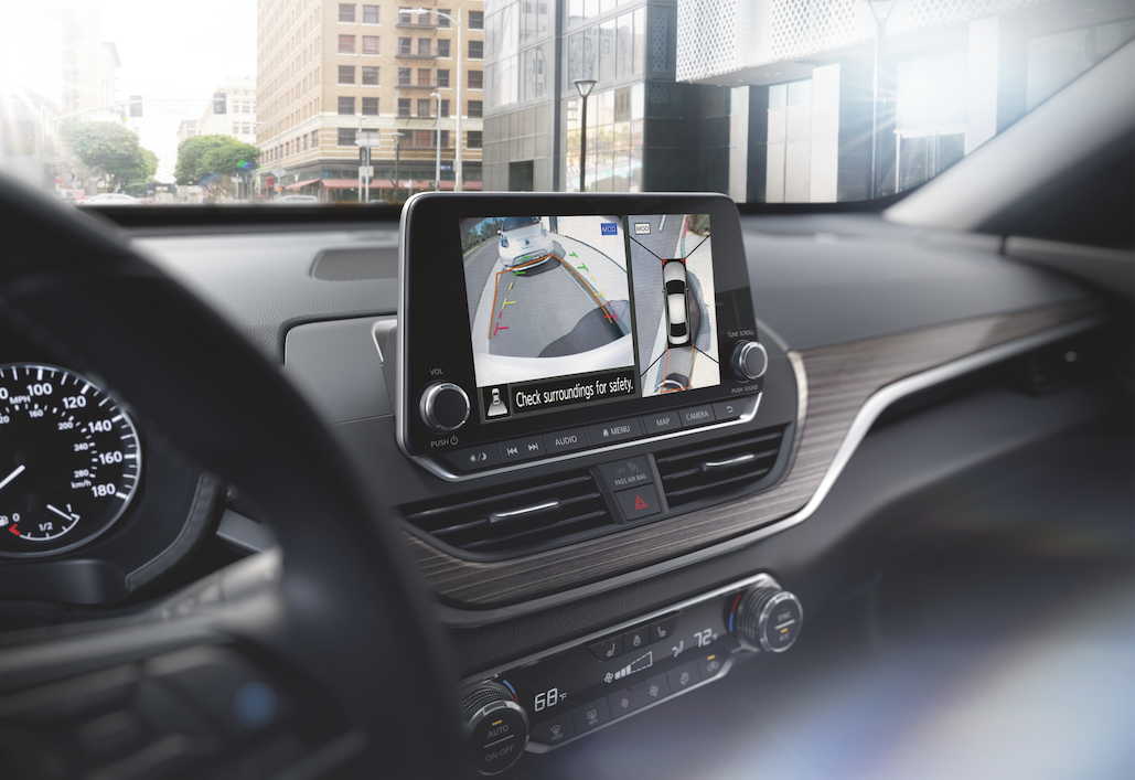 Rear camera on the 2019 Nissan Altima