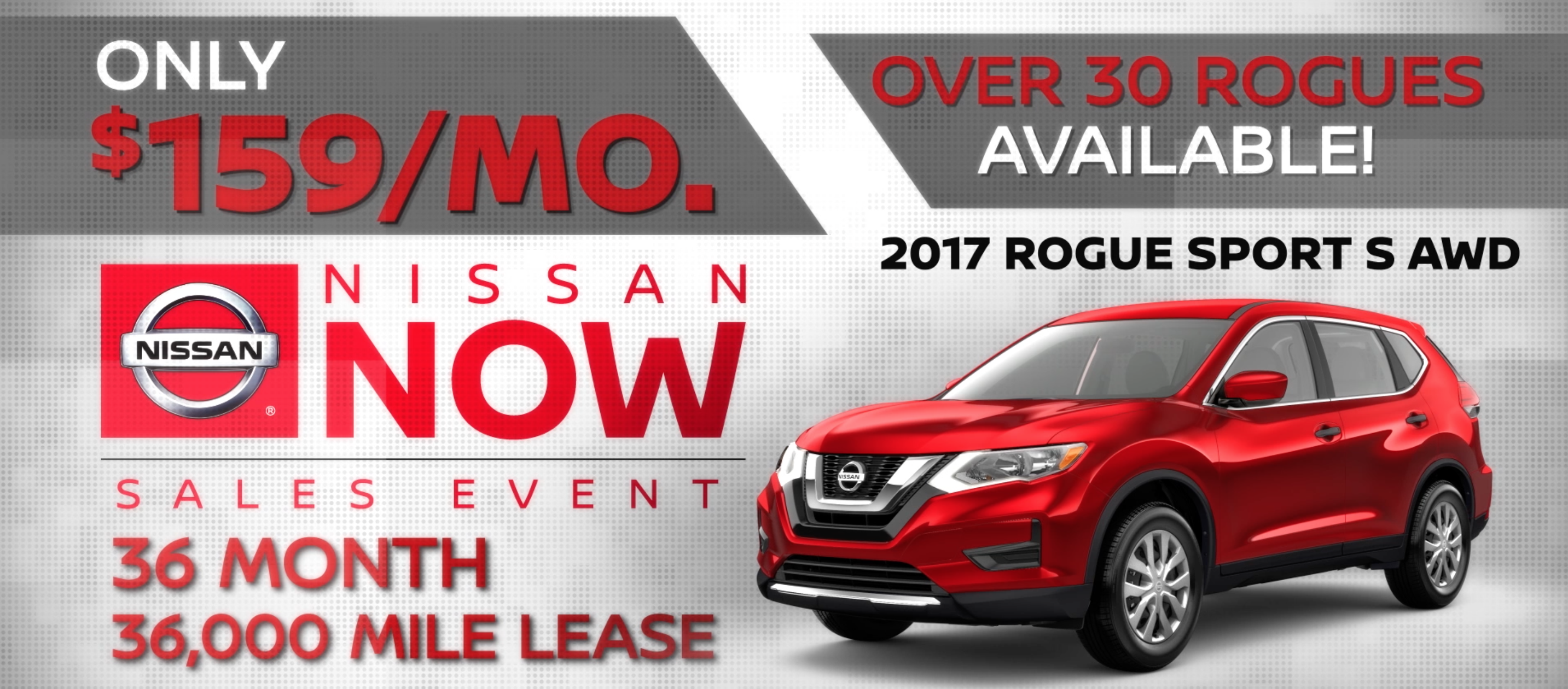 Lease a 2017 Rogue Billings for $159 a Month