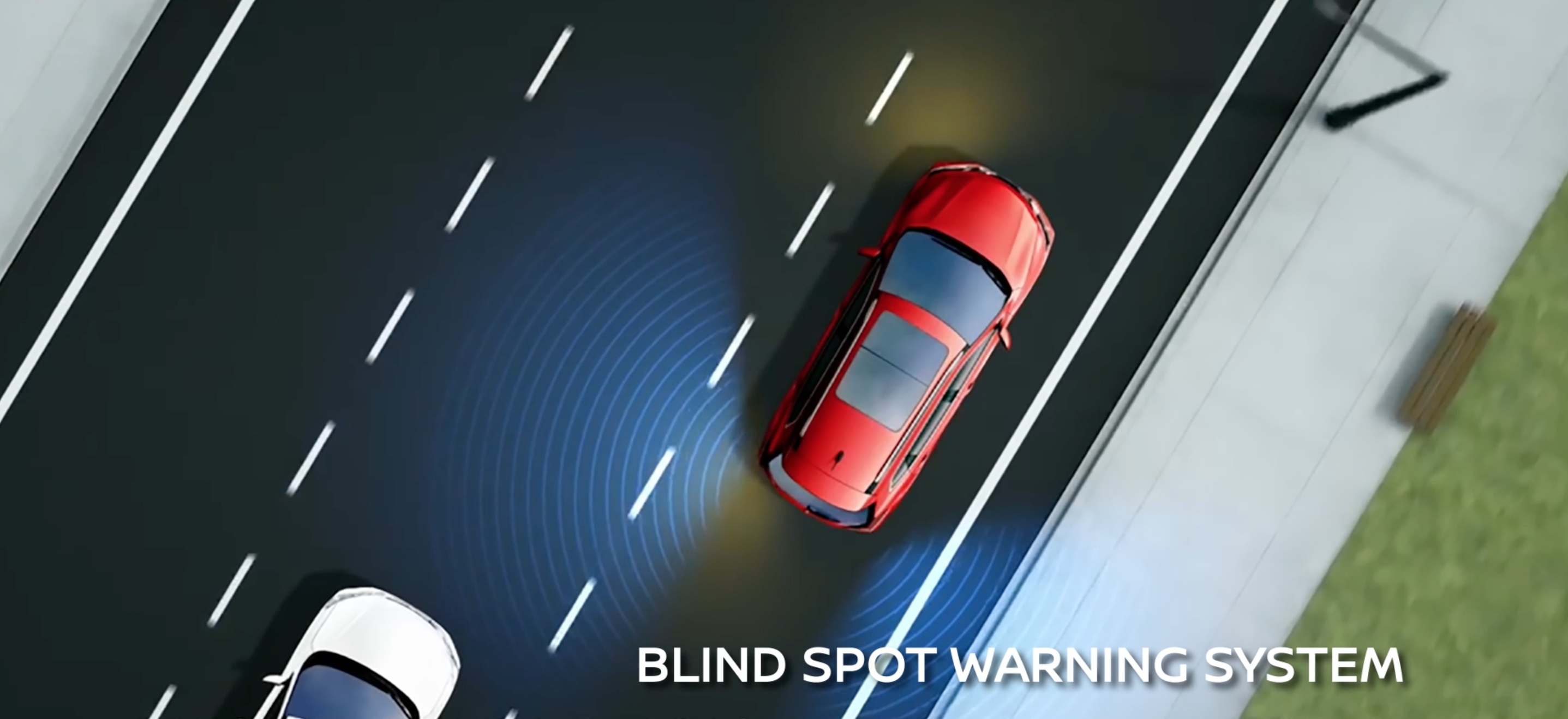 Nissan Rogue Blind Spot Warning System