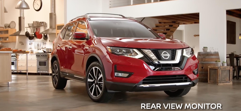 Nissan Rogue Rear View Monitor