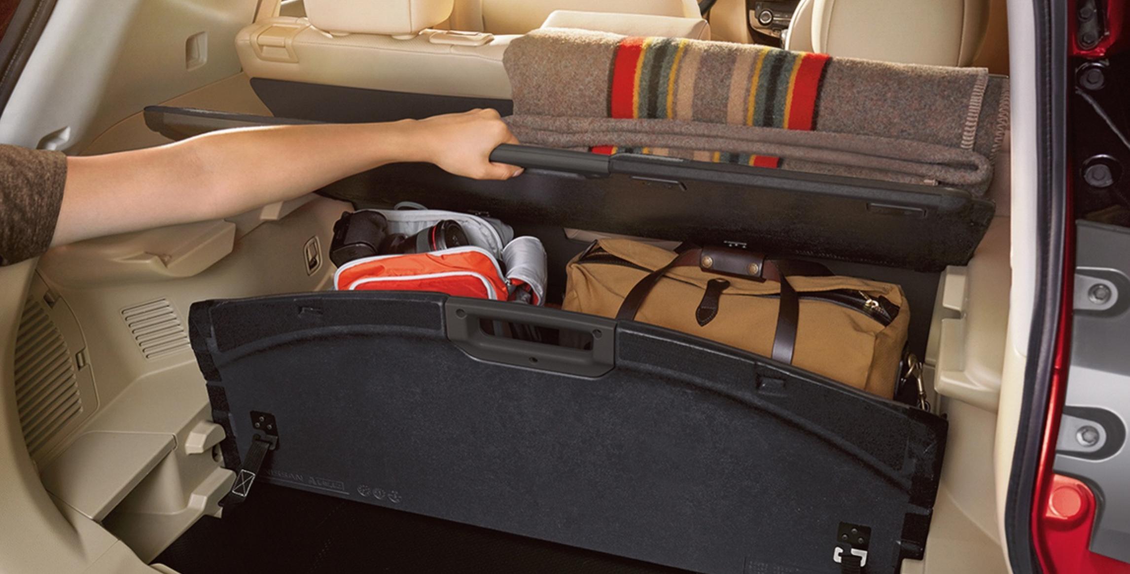 Cargo Room in the 2018 Nissan Rogue