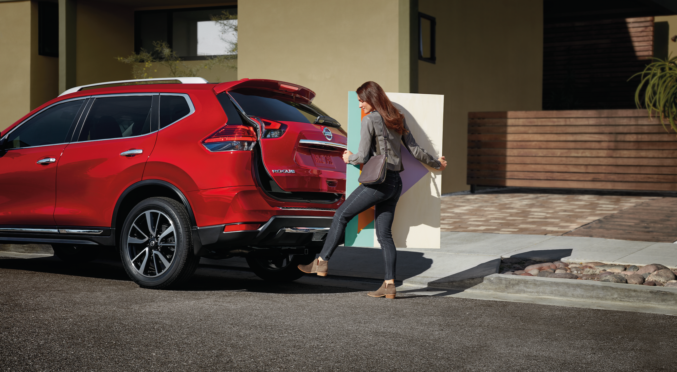 Motion Activated Lifegate in the Nissan Rogue