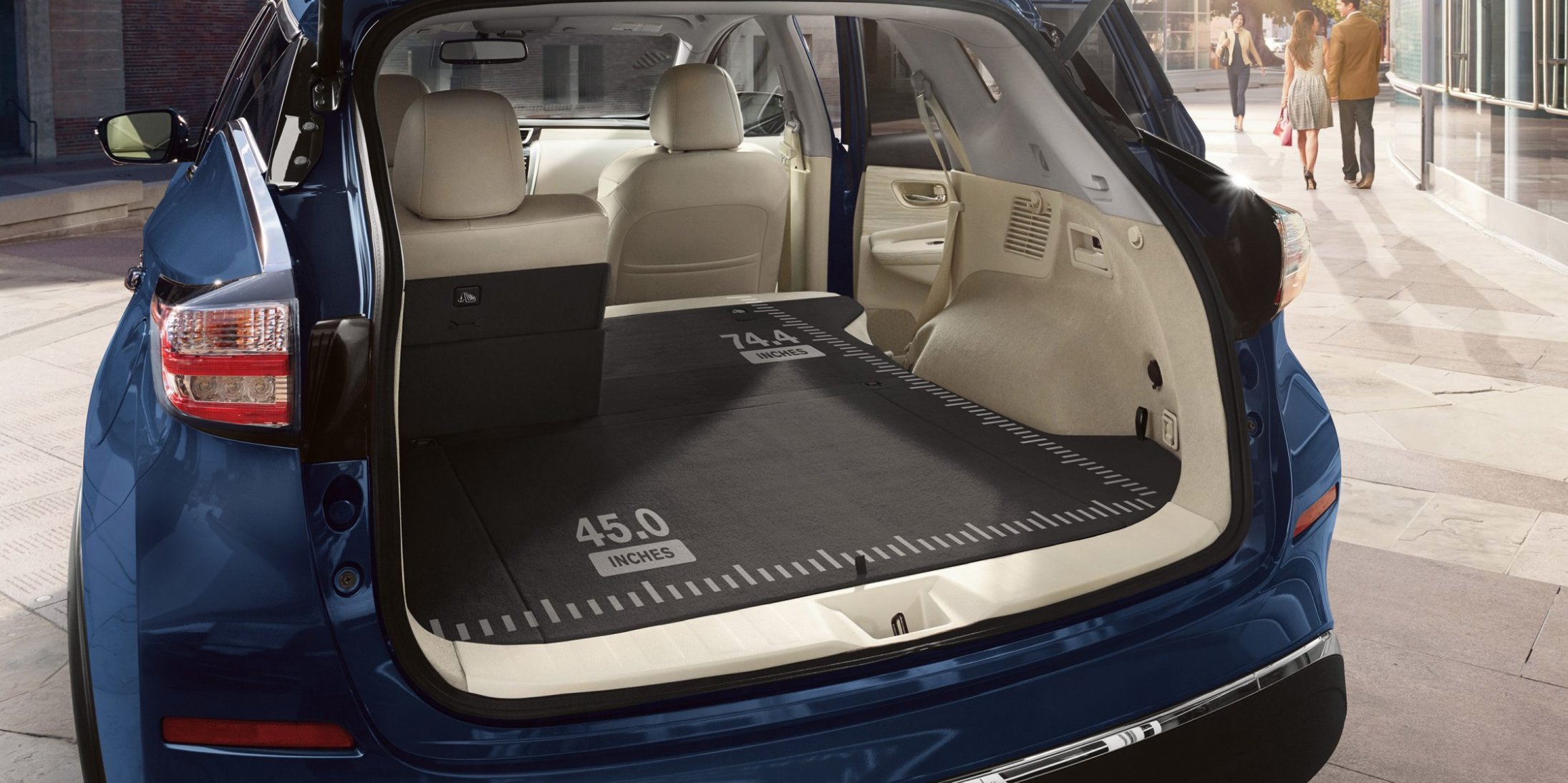 Cargo Space in the Nissan Murano