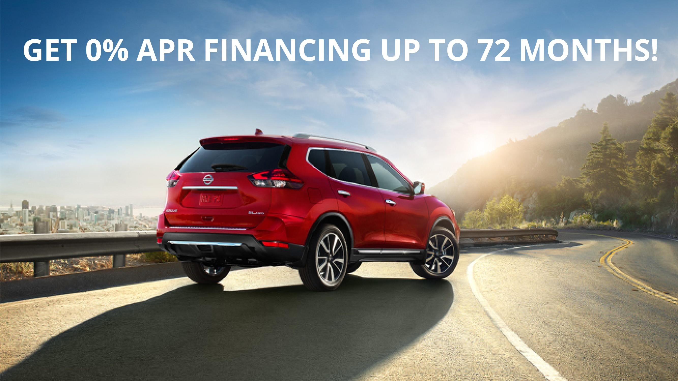 0 APR on New Nissans in Billings