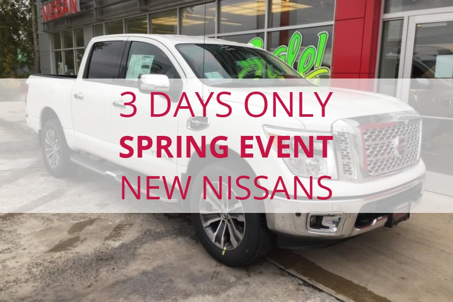 Spring Event on New Nissans in Billings