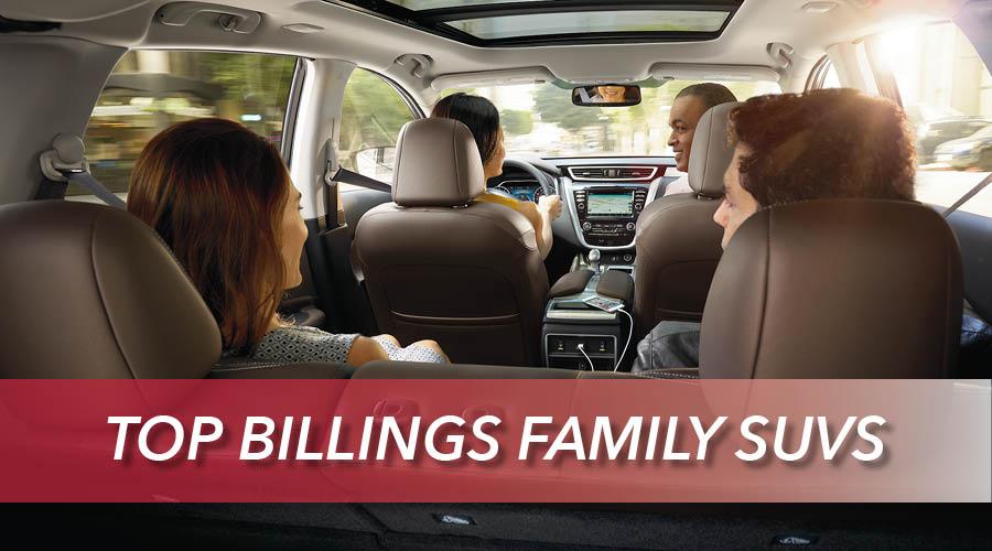 Nissan SUVs for Billings Families